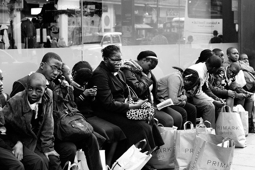 london, oxford street, 2011