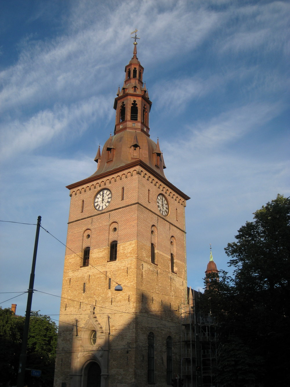 Sunday 24 March 11:00Oslo Cathedral -