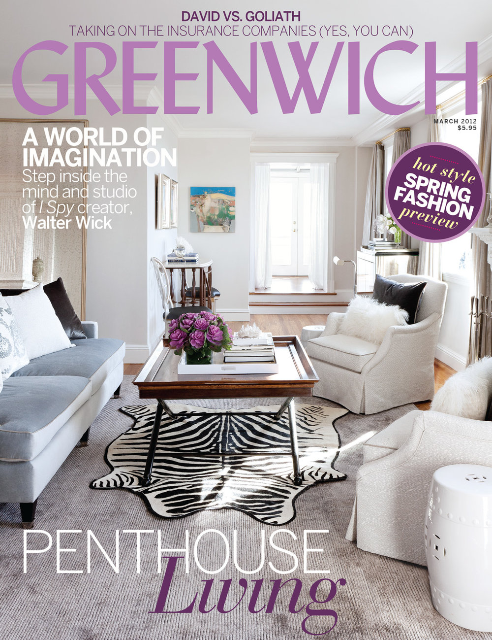 Greenwich Magazine April 2012