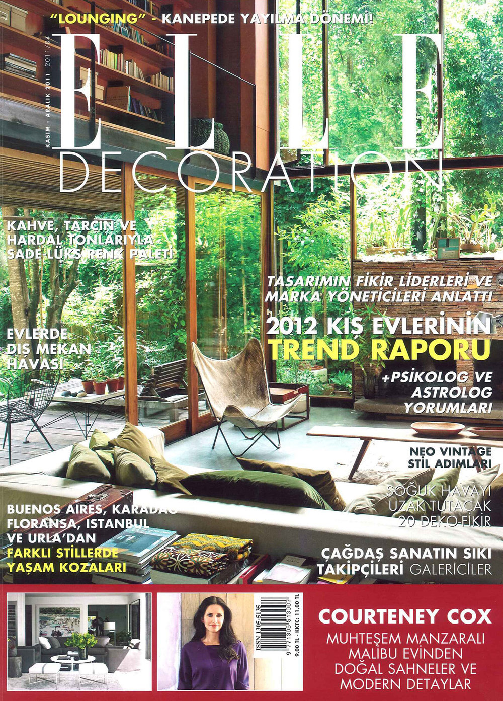 Elle Decoration November/December 2012