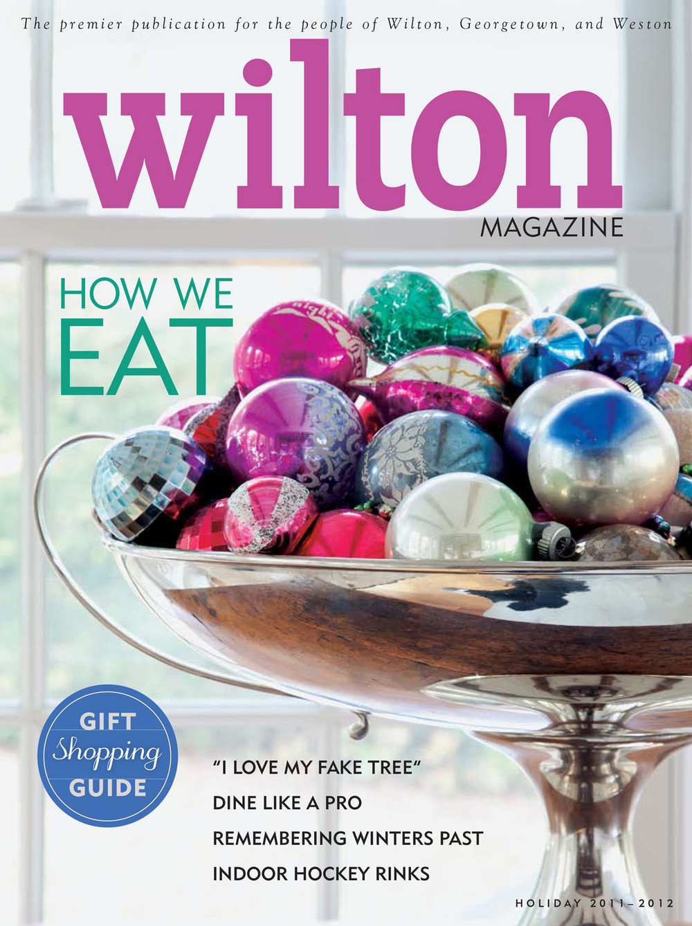 Wilton Magazine Holiday 2012