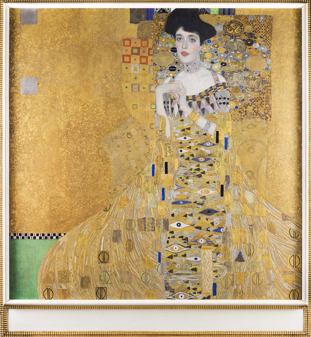 Portrait of Adele Bloch-Bauer I, Gustav Klimt. Photographed for Neue Galerie, New York