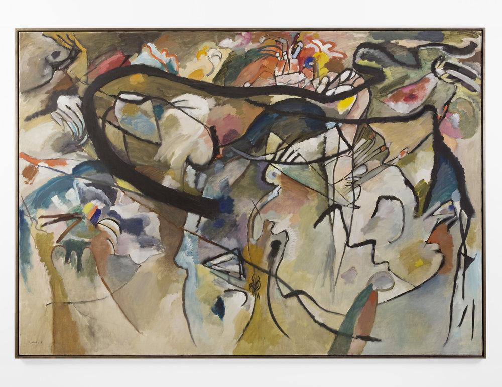Composition V, Vasily Kandinsky. Photographed for Neue Galerie, New York
