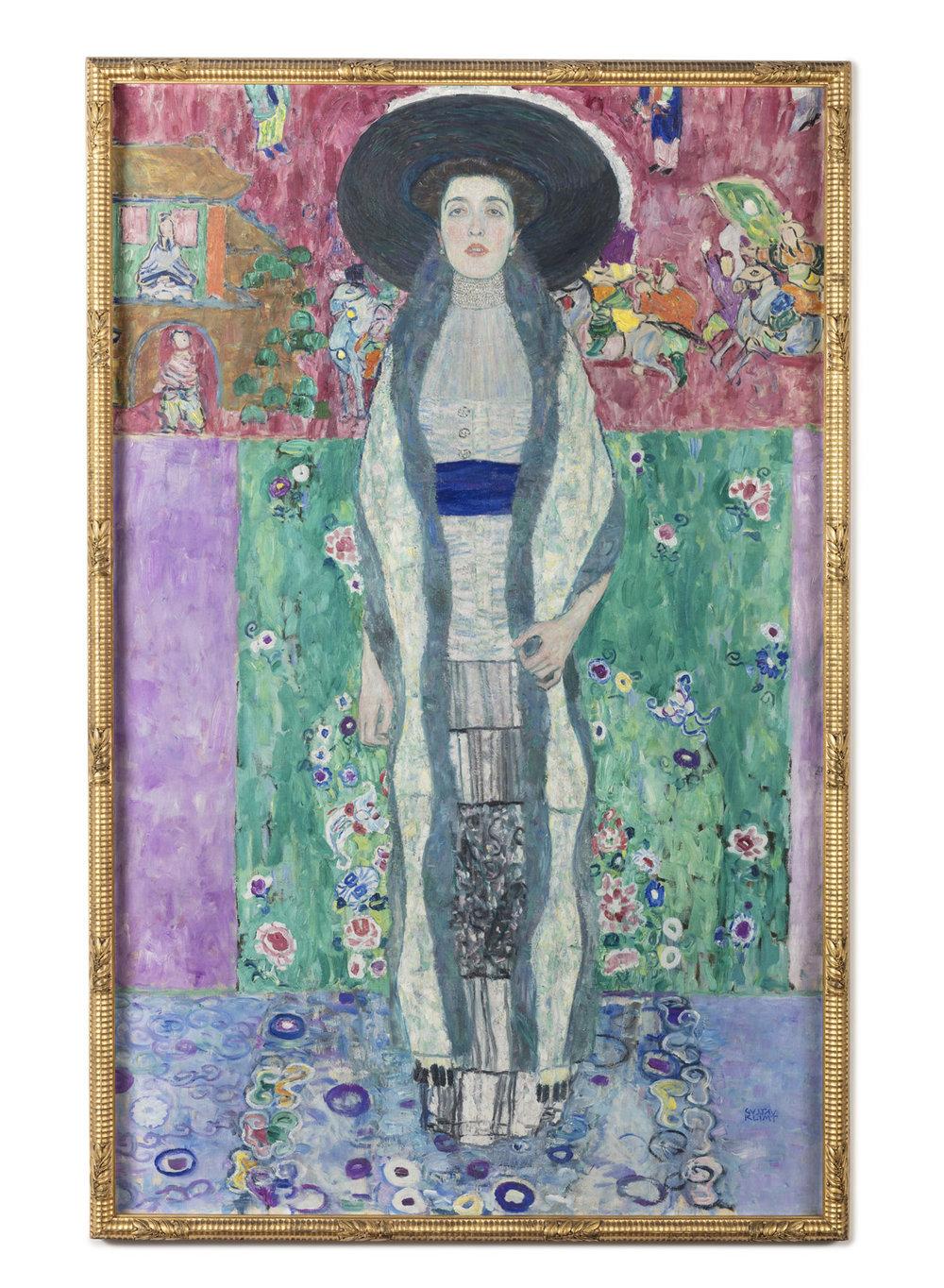Portrait of Adele Bloch-Bauer II, Gustav Klimt. Photographed for Neue Galerie, New York.