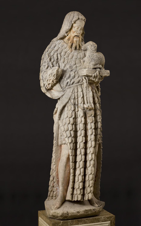 Saint John the Baptist, Burgundy, 15th century.Photographed for Neue Galerie, New York