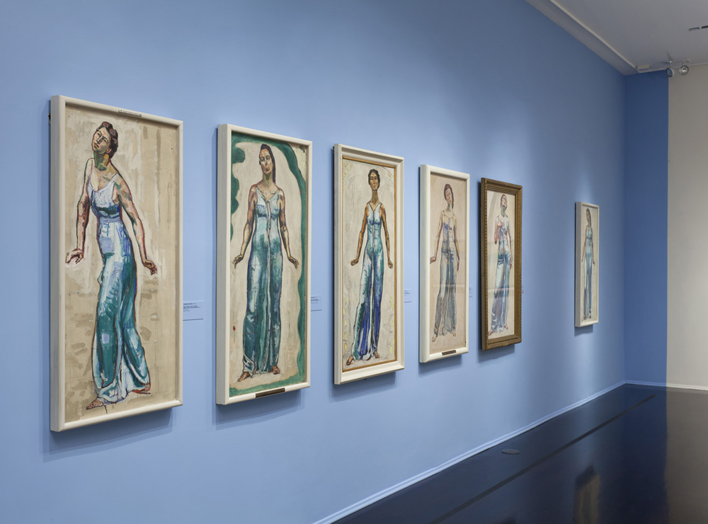 Ferdinand Hodler : View to Infinity - Installation photography for Neue Galerie, NY.