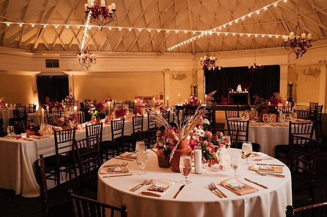 Swipe left to see the event space before photo! Isn't it magical what lighting can do to a space!? We always suggest the soft amber glow at the @thecasinosc .  Coordination | @k.sageevents  Catering | @californiafresh_catering  Venue |  @thecasinosc  Cake |  @graceandhoneycakes  Photographer |  @sarahmackphoto  Videographer | @izzyqu  Dj | @dartcollective  Floral |  @rogueandfox  Specialty Rentals |  @sundrop_vintage  Lighting | Crown Five LLC Photobooth | @pixsterphotobooth