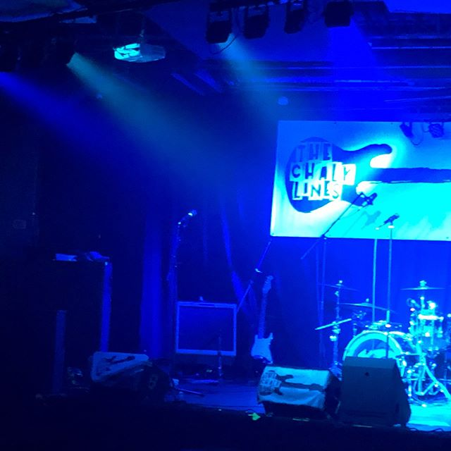 @thechalklines at @blumartini_ygk Great set tonight boys!!