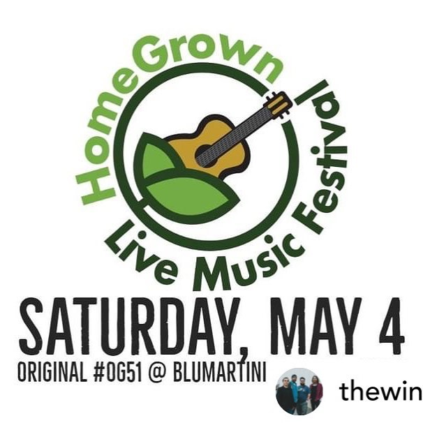 Yessss!!!! Posted @withrepost • @thewinterincanada We're so excited to be playing this year's HomeGrown Live Music Festival in support of the Joe Chithalen Memorial Musical Instrument Lending Library -  on May 4th at BLUMartini with:  @welivenextdoor @tuneintobon #DympnaMcConnellBand #thehellhoundtrailbluesband @sweet_talk_jackie  @redwoodsandbirch @deuxtroismusic  @8bhmusic  @homegrownlive2019 @originalog51 @joes_mill  #ygk #ygklive #ygkmusic #og51 #homegrownlive #alternative #rock #alternativerock #indie #indierock