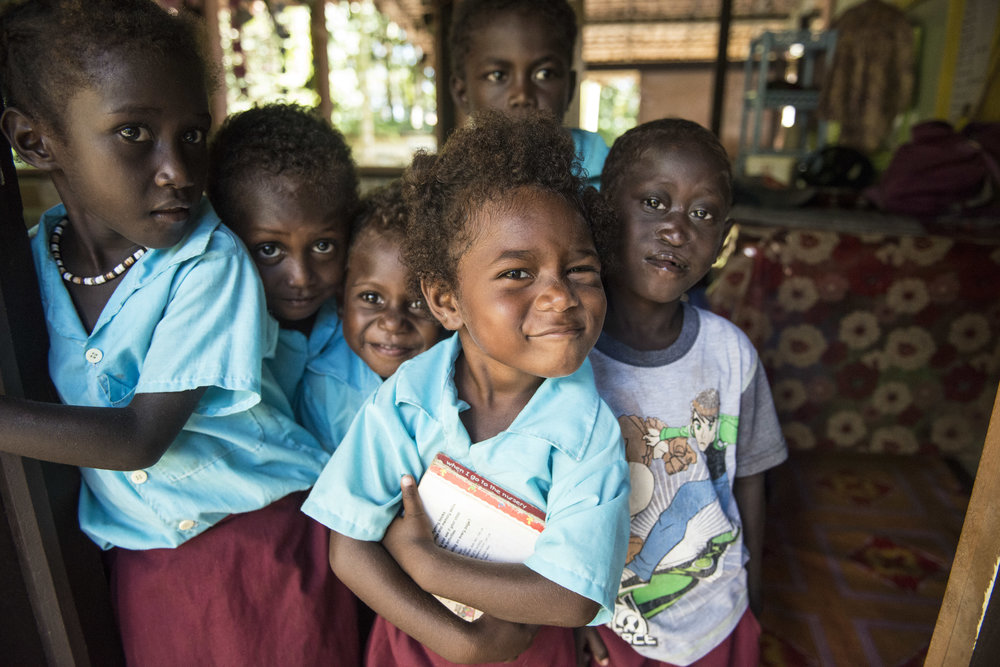 Early Childhood Centre. Choisuel Province. Solomon Islands. 2016.