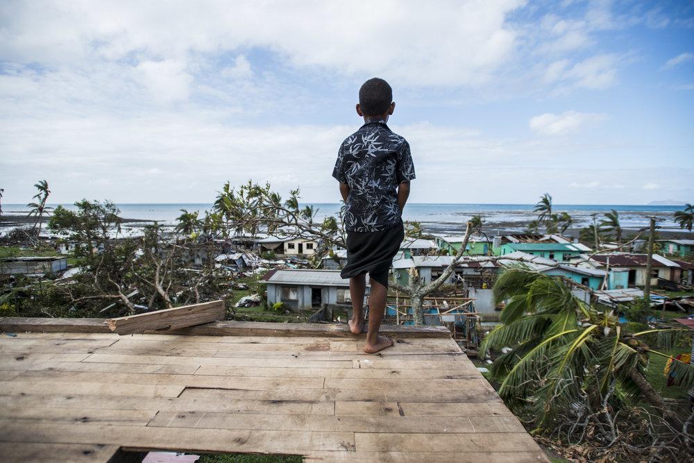 Cyclone Winston aftermath. Viti Levu, Fiji. 2016.