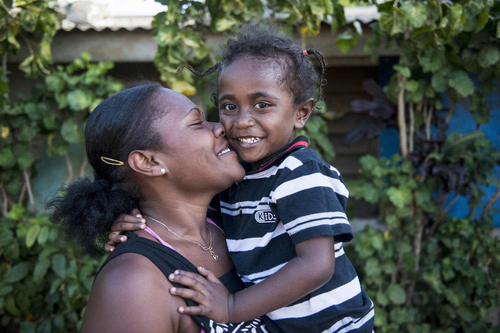 My Bebi project. Efate, Vanuatu. 2017.