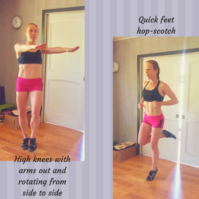 Weekly Running and Cross Training Workouts