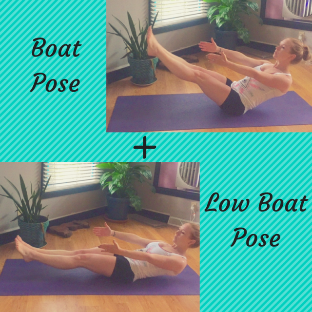 boat pose Weekly Workouts for Running and Cross training