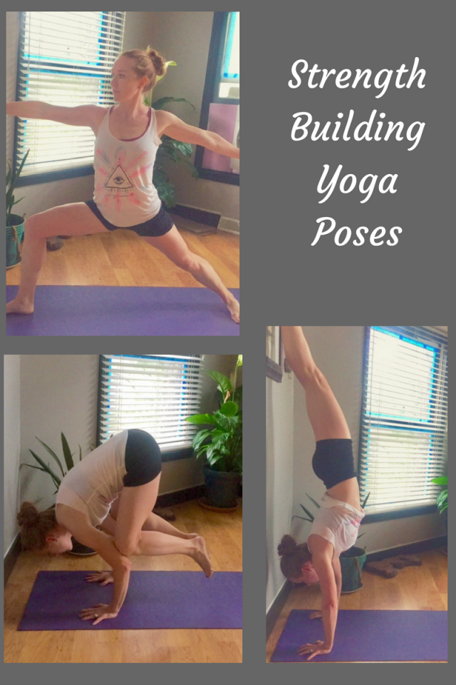 Weekly Running & Cross Training Workouts, Including Yoga Poses