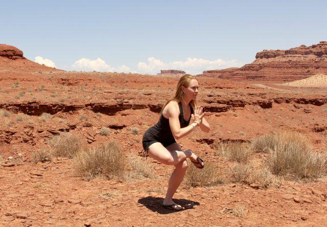 roadside yoga