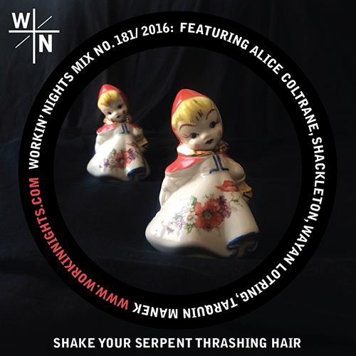 181: SHAKE YOUR SERPENT THRASHING HAIR