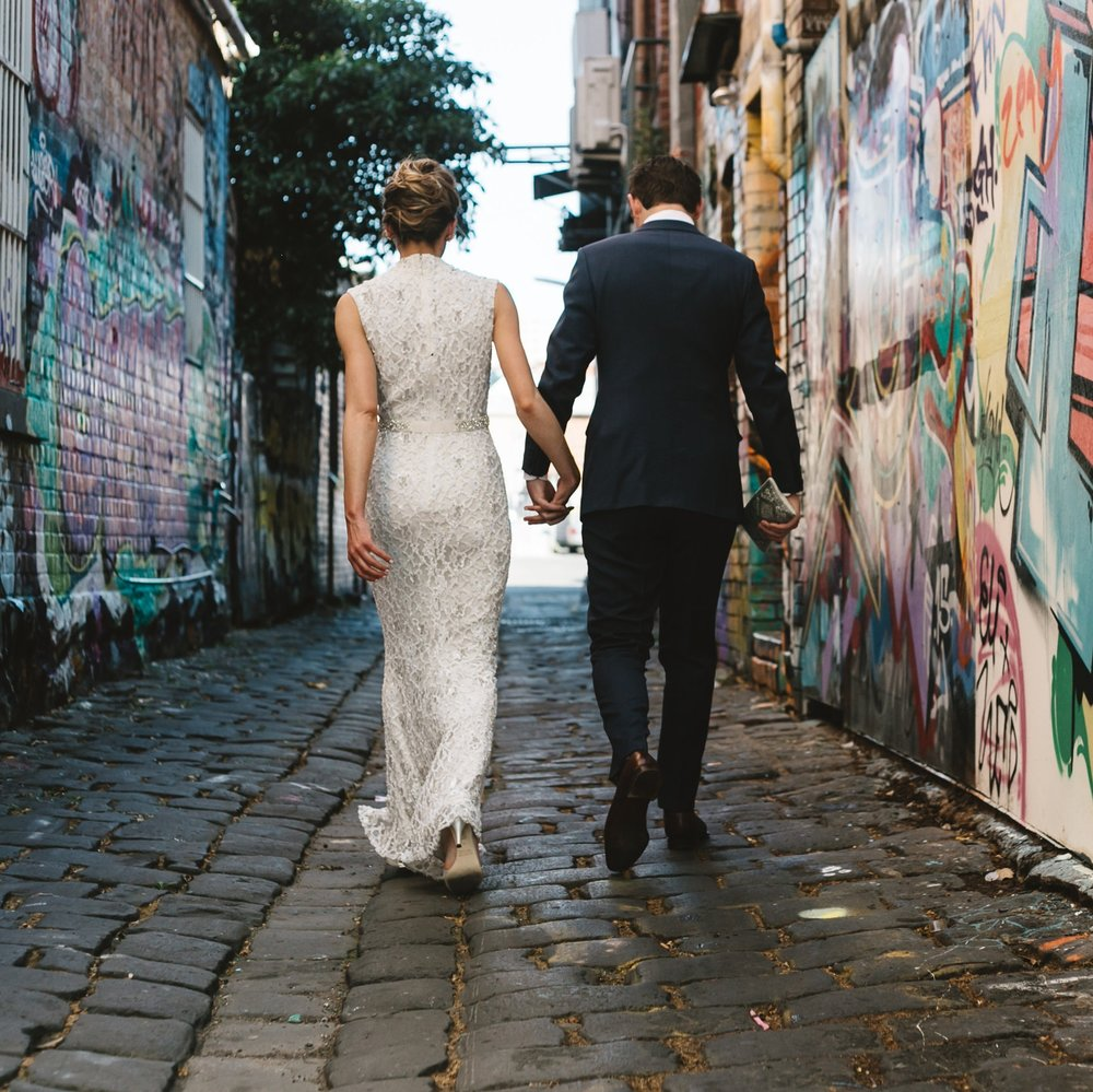 Urban Weddings in Melbourne -