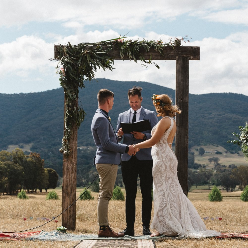 Weddings in Country Victoria -