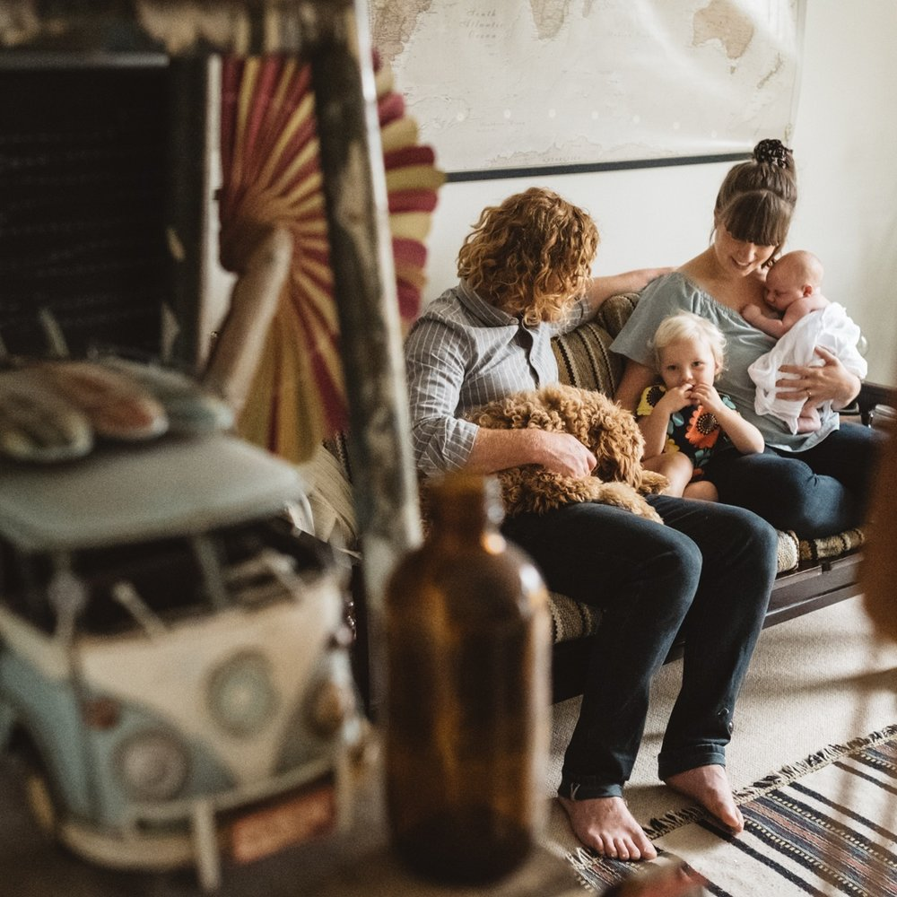 Lifestyle family photography -