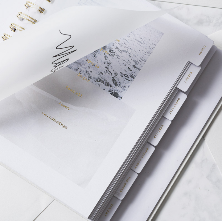 planning tools: agendas and planners for brides in Melbourne