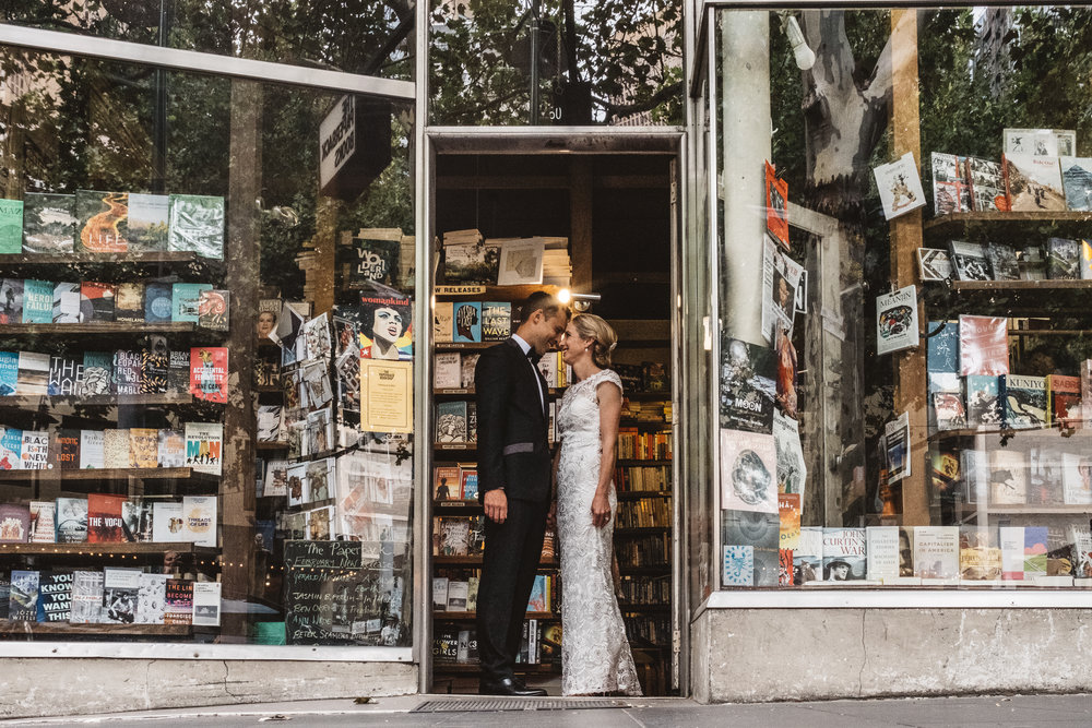 melbourne urban small weddings and elopments in st kilda