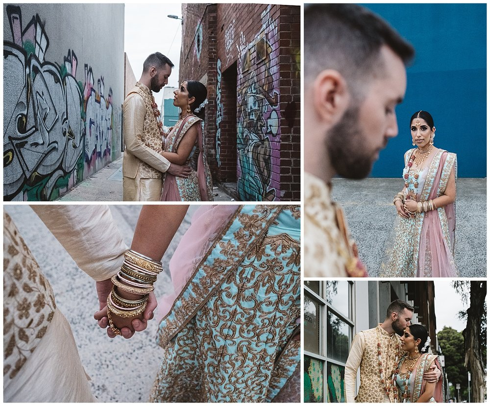 Brunswick urban vibes engagement and wedding sessions