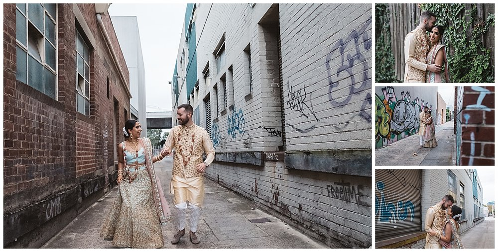 Inner Melbourne uban engagement photography for couples