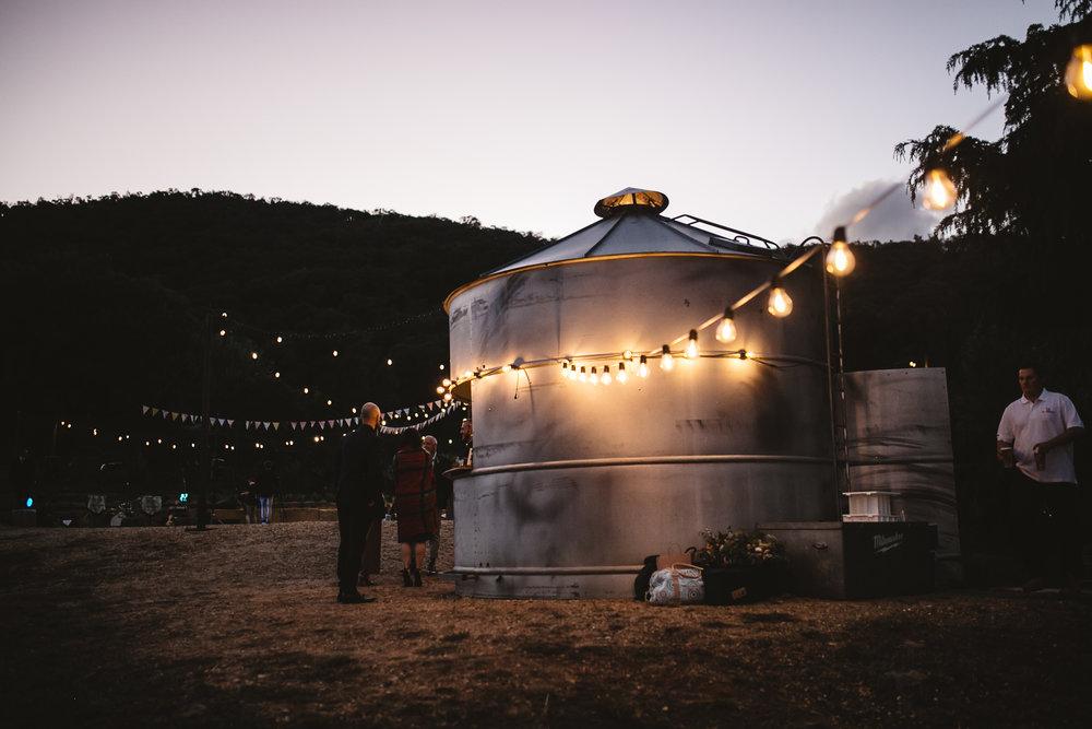 Rustic outdoor wedding venue mornington