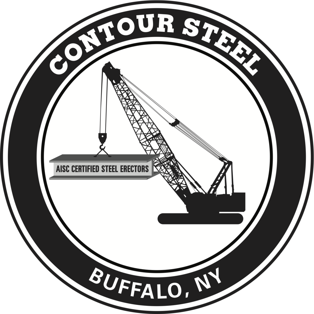 Contour Steel Circle Logo Black and White.png