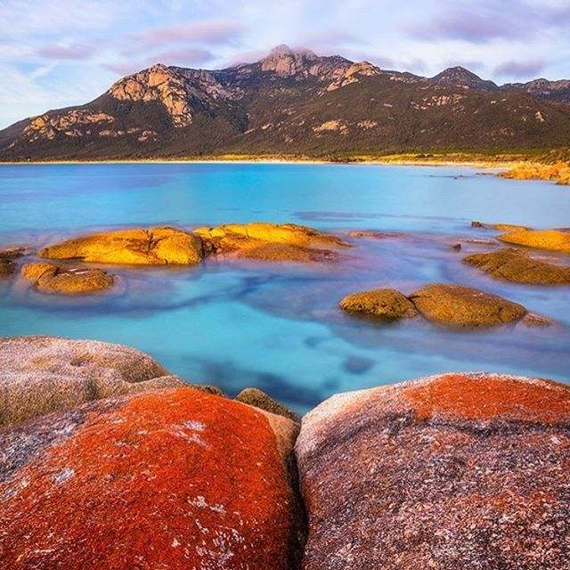 Working on a guide to the smaller #tasmanian islands like this beauty #flindersisland for an upcoming story. Makes me remember our time driving around the island and enjoying every gorgeous bit of scenery around every corner. Even if you've been to #tasmania it's time to go back and do the smaller islands!