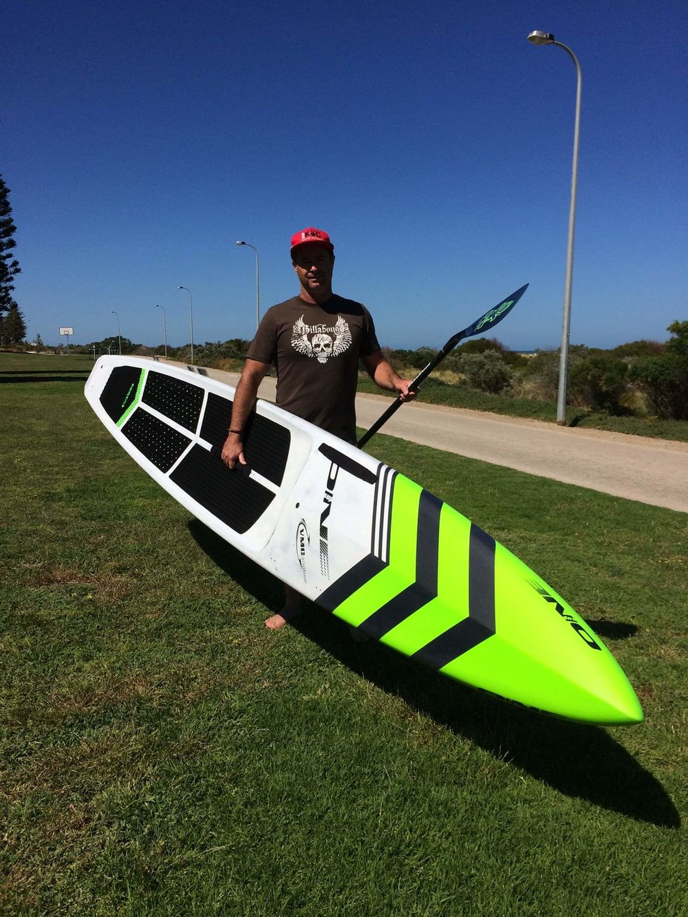 Scott McCluskey - Racer - Foiler - Surf