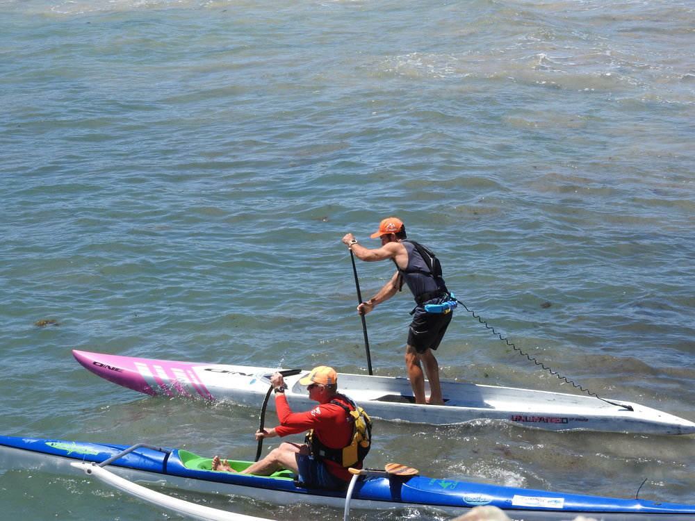 Paddle without any restriction around your legs
