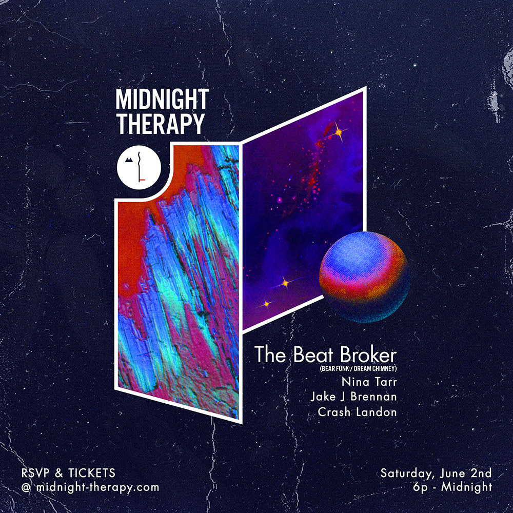 Midnight Therapy with the Beat Broker and Nina Tarr