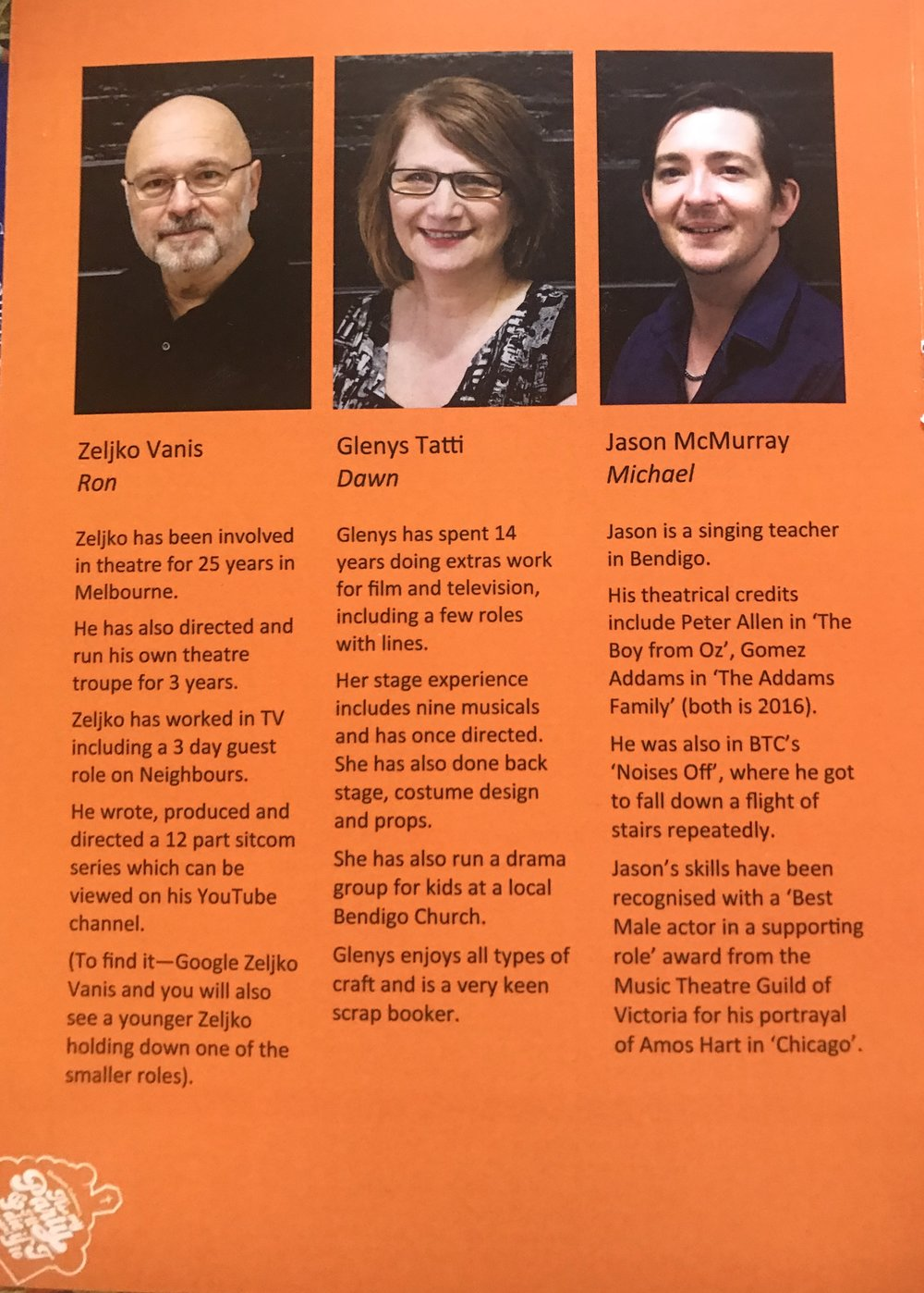 Program Cast Page 1