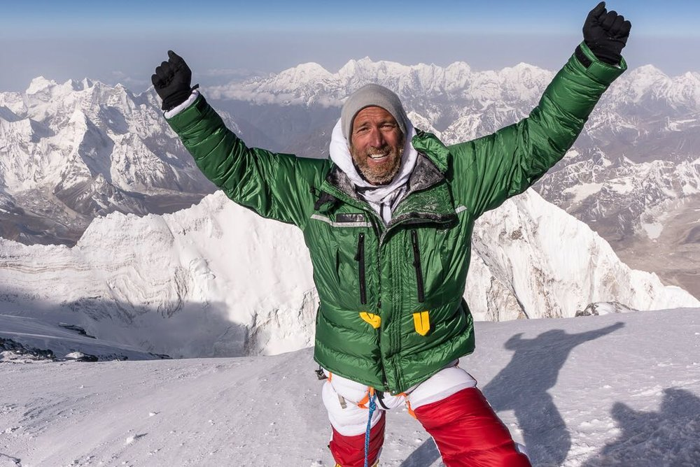 BEN FOGLE - EVEREST - Ben Fogle successfully summitted Mount Everest (8848m) in May 2018, supported by the Anything Is Possible organisation. The climb also supported the work of the British Red Cross.