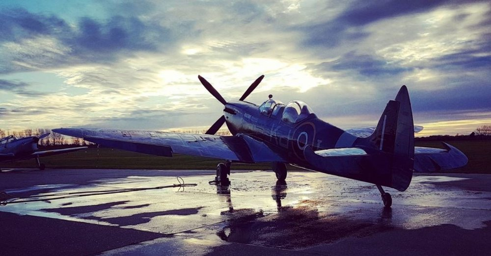 SILVer SPITFIRE - In August 2019 a newly restored original Mk IX Spitfire will depart from the UK on a world-first circumnavigation of the globe.
