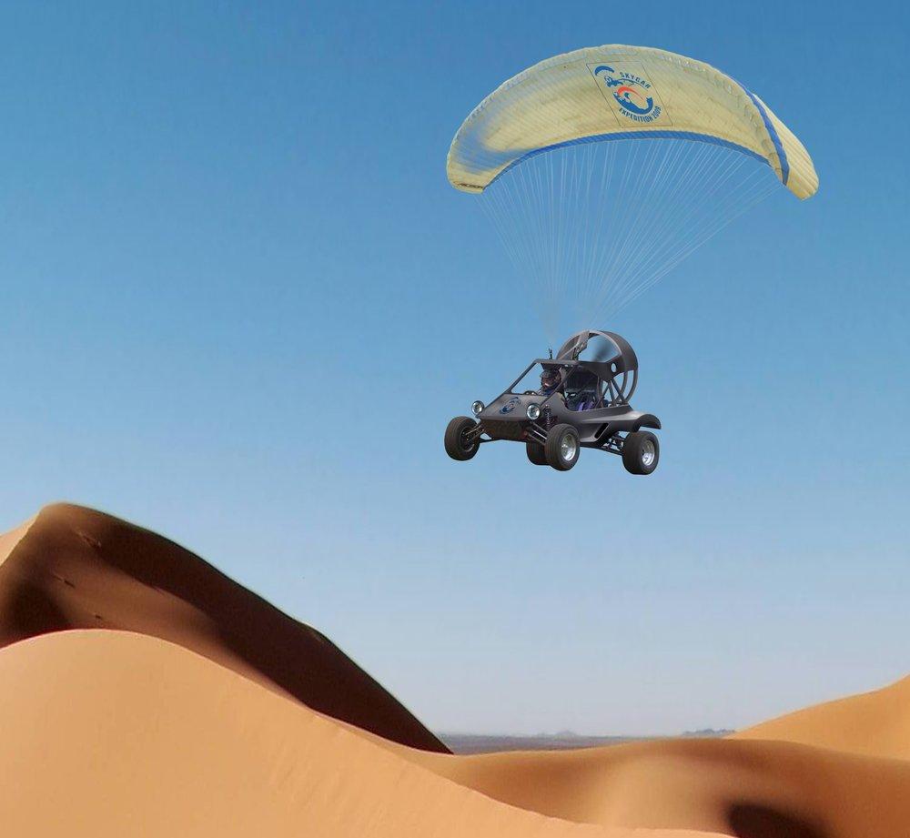 parajet skycar expedition -