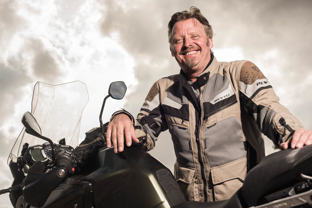 """CHARLEY BOORMAN - Adventurer, Travel Writer, Entertainer. Charley Boorman's charismatic """"let's just do it"""" approach to challenges has won him over to a massive TV and literary audience. He is also known for his enthusiasm for motorbikes, as demonstrated in several documentaries of his travels, including two with his friend, actor Ewan McGregor."""