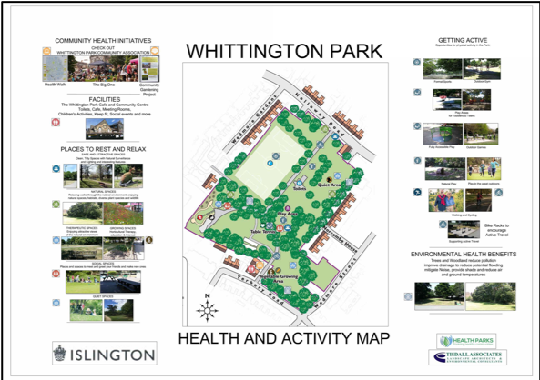 Health and Activity Maps & Health Strategy Plans.