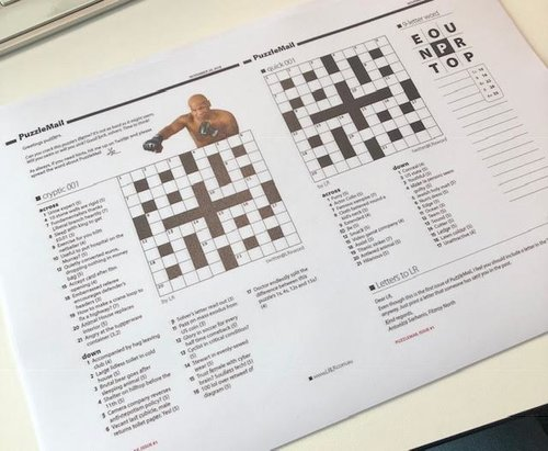 PuzzleMail - LR makes a weekly 4-page puzzle newsletter, including cryptic and quick crosswords (and more!) exclusively for subscribers from $1.99/week. It is emailed every Thursday morning, and you can print it out or solve the crosswords on any device. Learn more
