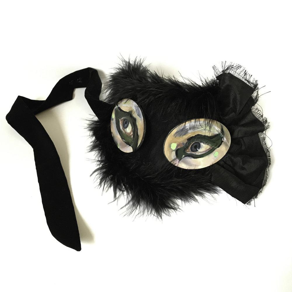 2017 - 'Goth Visard Mask'