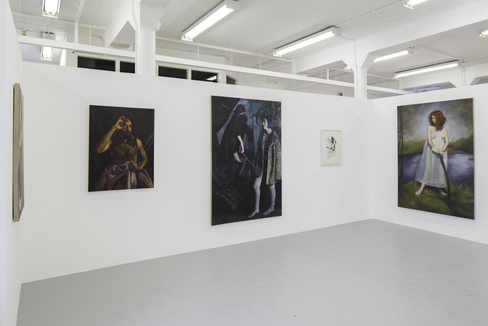 2016 - Degree Show, Tontine Building, Glasgow School of Art, Installation View