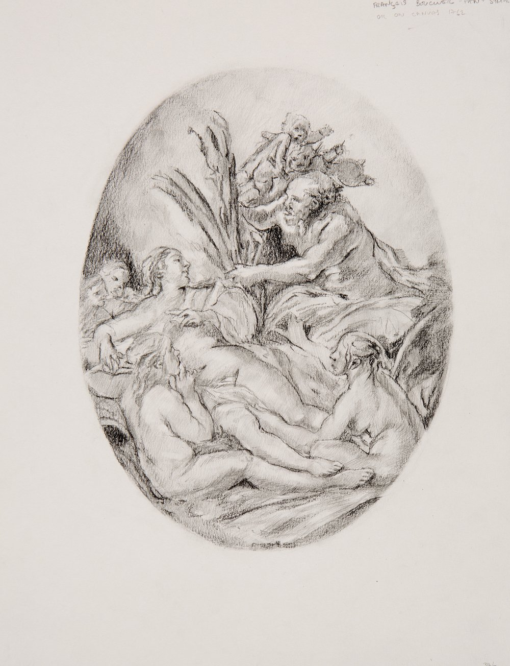 2015 - Study after 'Pan and Syrinx,' 1760 - 1765, François Boucher