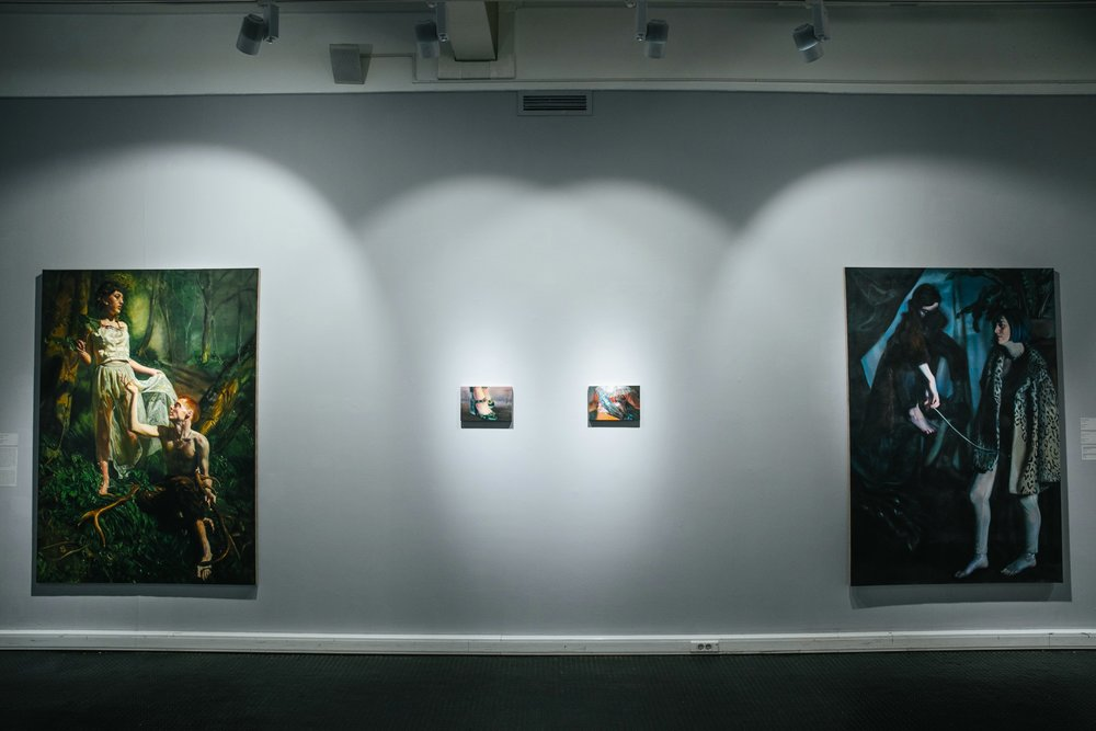 Georgina Clapham, 'Mythologies and Metamorphoses,'Triumph Gallery, 2018..jpg