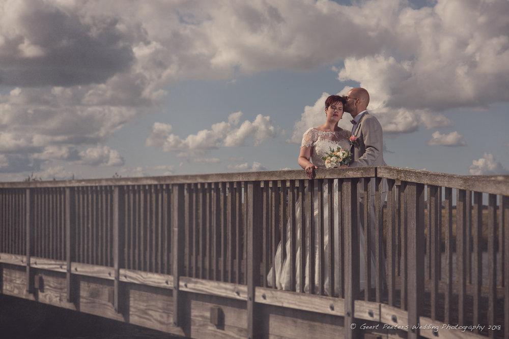 De grote stove Zuienkerke trouw Elise en Maarten shoot foto