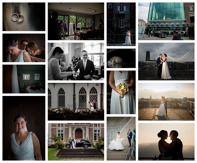 Lamot Mechelen trouw Judith en Kurt foto