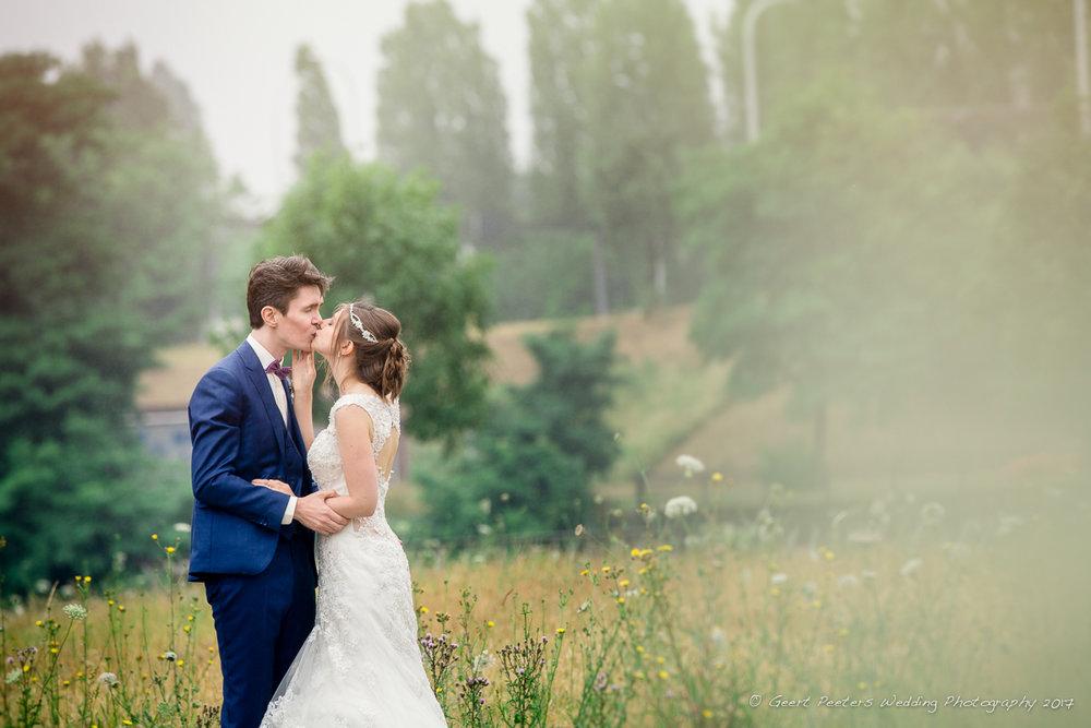 Canal Vilvoorde trouw Fran en Jozef foto