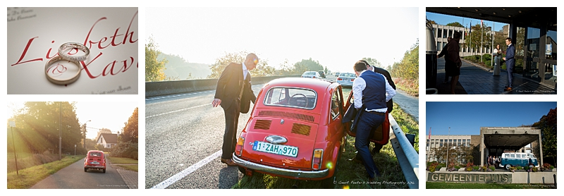 Kasteel Rozelaar Lochristi trouw Liesbeth en Xavier foto