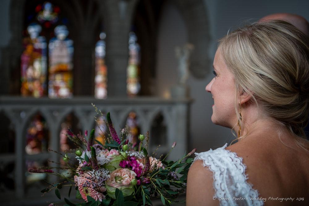 Gemeentehuis Mechelen trouw bruid foto